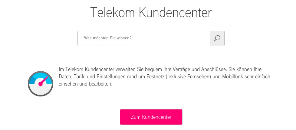 telekom kundencenter service festnetz support. Black Bedroom Furniture Sets. Home Design Ideas