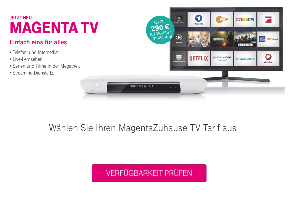 MagantaTV buchen - Kundencenter